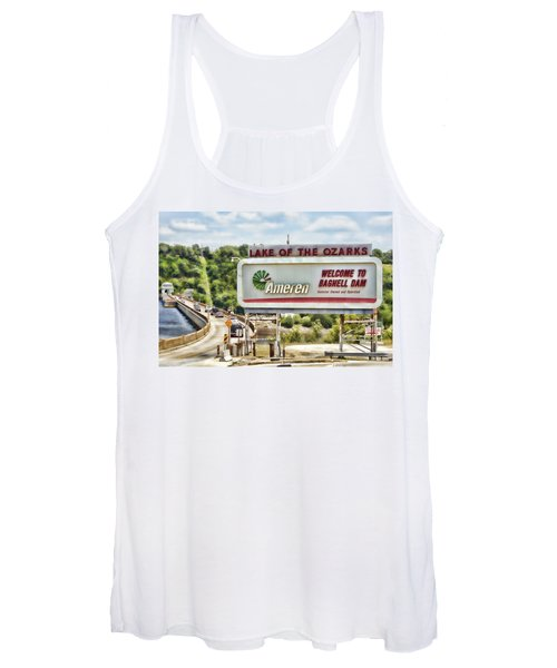 Welcome To Bagnell Dam Women's Tank Top