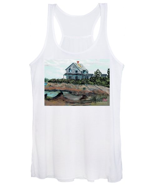 Whales Of August House Women's Tank Top