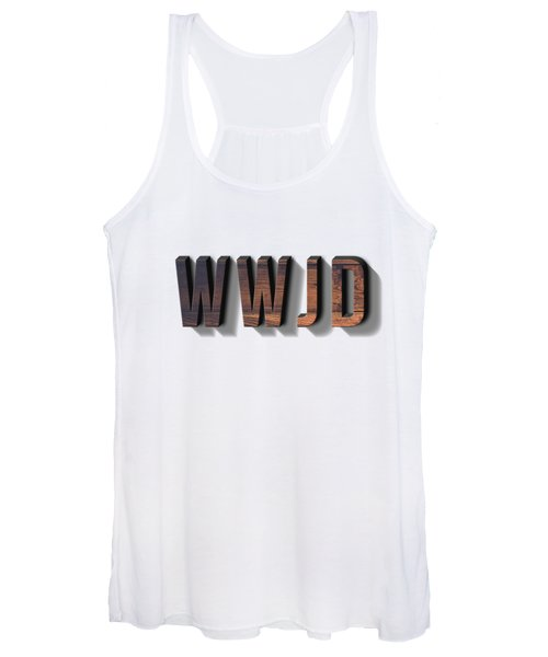 What Would Jesus Do Tee Women's Tank Top