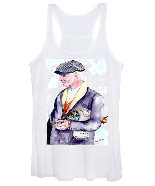 When Fish Were Wrapped In Newspaper Women's Tank Top