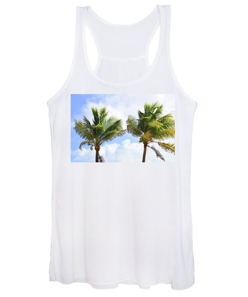 Where The Coconuts Grow Women's Tank Top