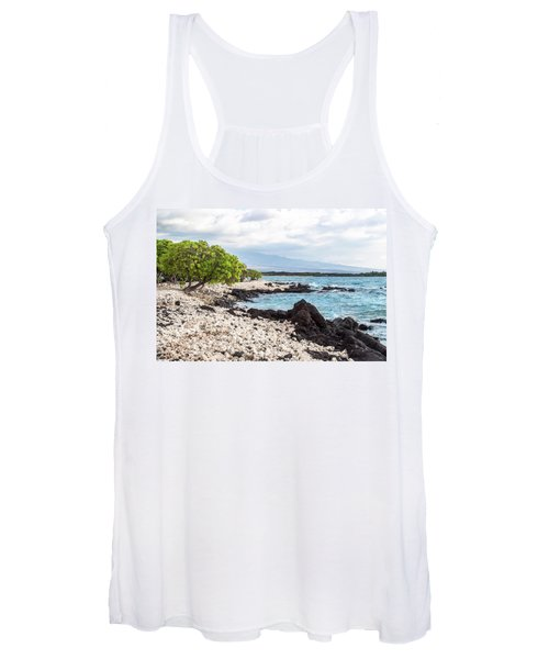 White Coral Coast Women's Tank Top