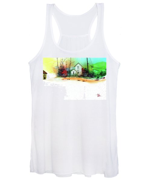 White Houses Women's Tank Top