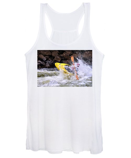 Whitewater On The New River Women's Tank Top