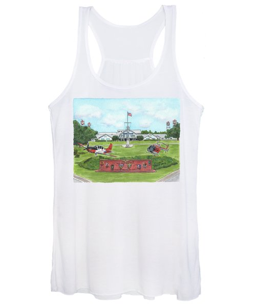 Whiting Field Welcome Sign Women's Tank Top