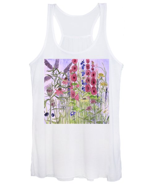 Wild Garden Flowers Women's Tank Top