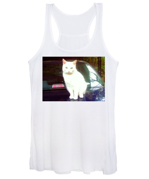 Will Wash Car For Treats Women's Tank Top