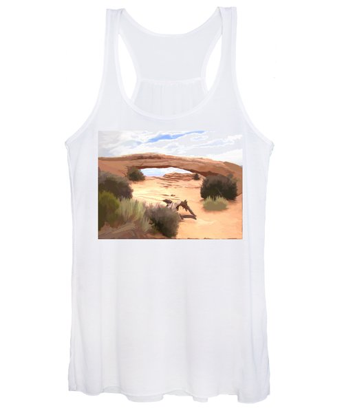 Window On The Valley Women's Tank Top