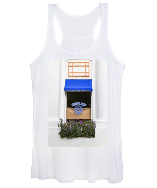 Window Trimming Women's Tank Top