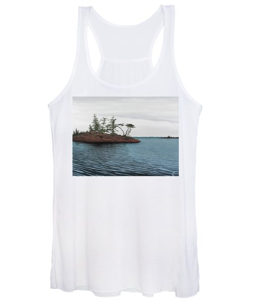 Windswept Island Georgian Bay Women's Tank Top