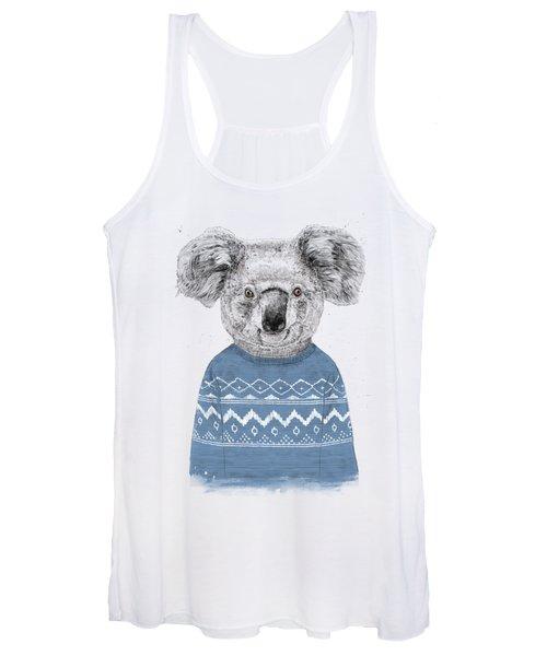 Winter Koala Women's Tank Top