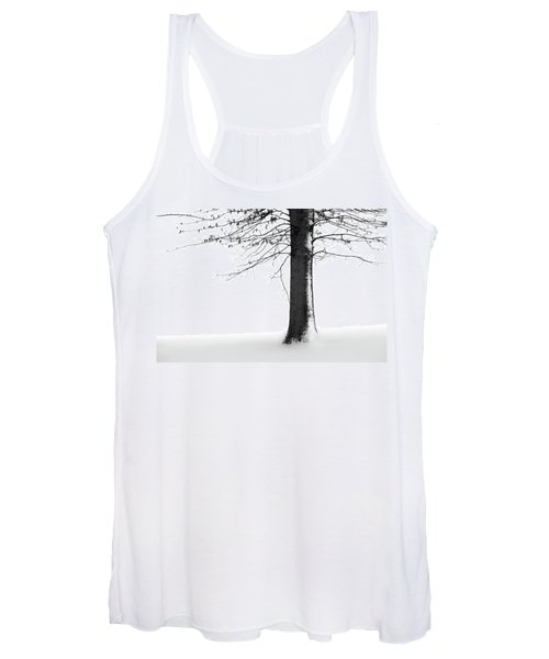 Winter Solitude Women's Tank Top