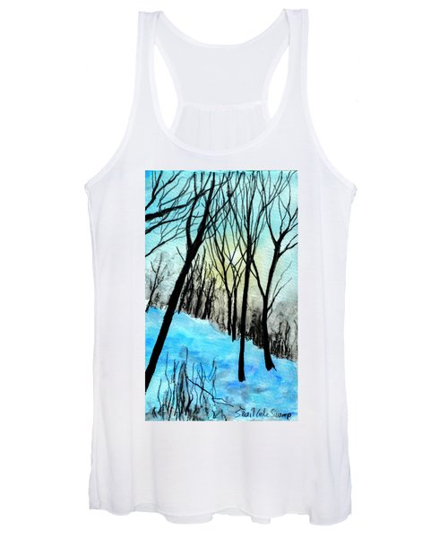 Winter Sunlight Women's Tank Top