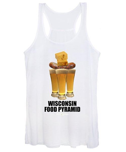 Wisconsin Food Pyramid Women's Tank Top