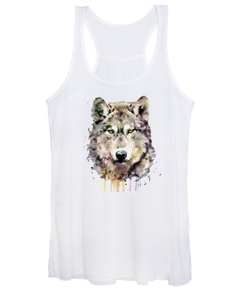 Wolf Head Women's Tank Top