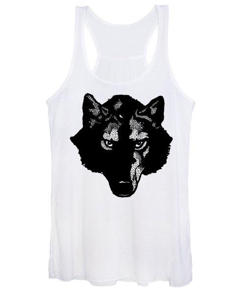 Wolf Tee Women's Tank Top