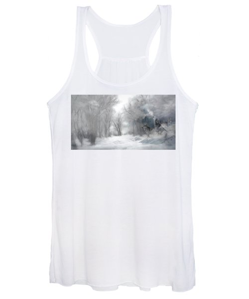 Wolves In The Mist Women's Tank Top