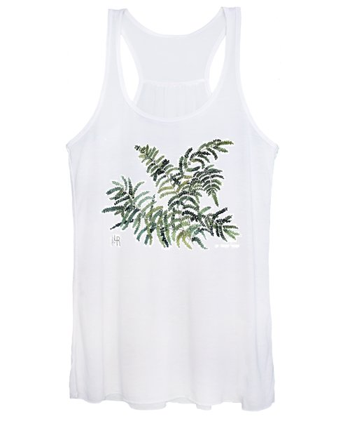 Woodland Maiden Fern Women's Tank Top