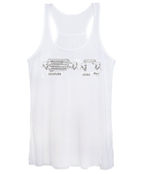 Working It Out Women's Tank Top