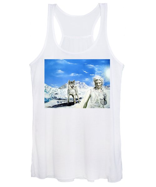 Wounded Amazon Women's Tank Top