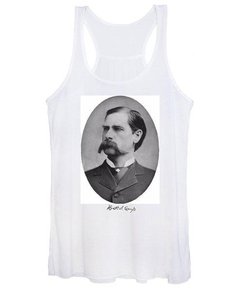 Wyatt Earp Autographed Women's Tank Top