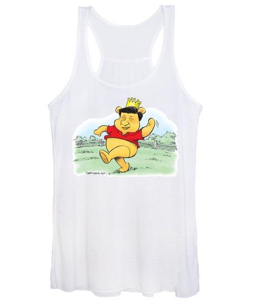 Xi The Pooh Women's Tank Top