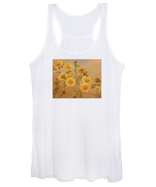 Yellow Daisies Women's Tank Top