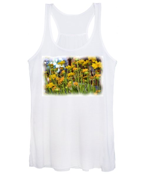 Yellow Fields Women's Tank Top