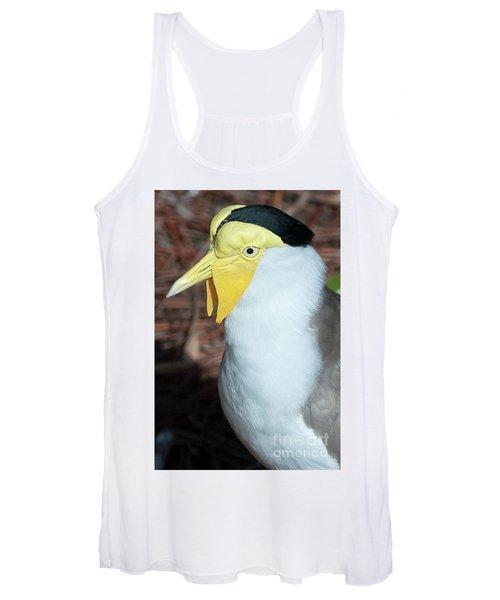 Yellow Headed Bird Women's Tank Top