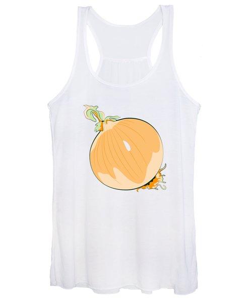 Yellow Onion Women's Tank Top