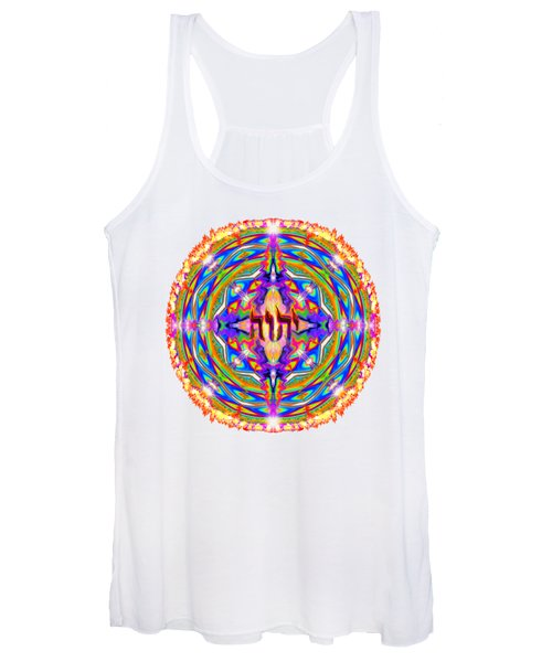 Yhwh Mandala 3 18 17 Women's Tank Top