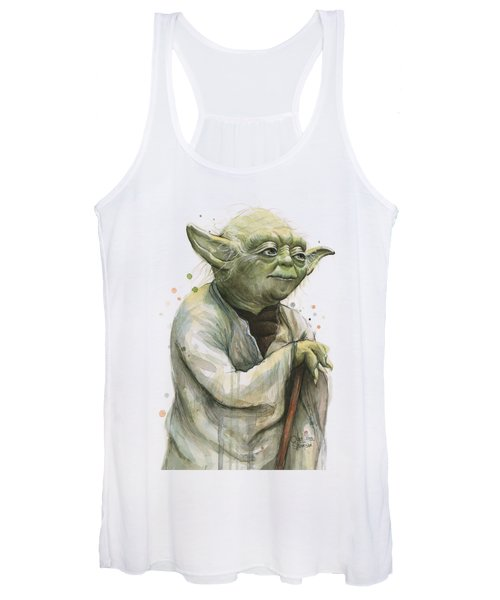 Yoda Portrait Women's Tank Top
