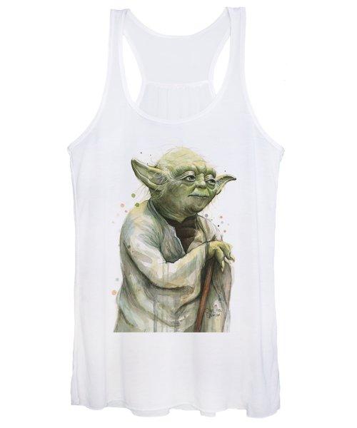 Yoda Portrait Women's Tank Top