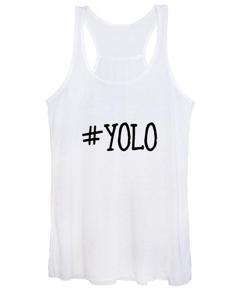 #yolo Women's Tank Top