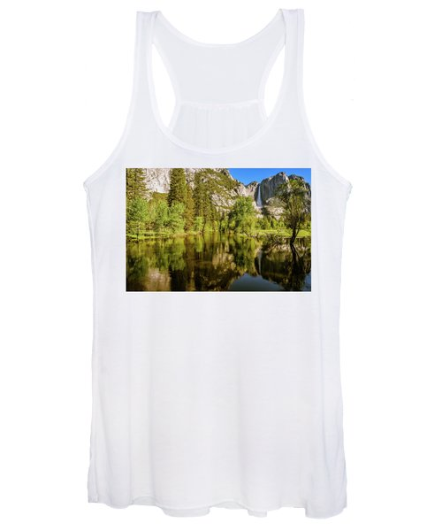 Yosemite Reflections On The Merced River Women's Tank Top