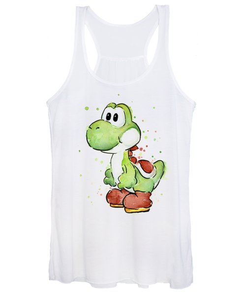 Yoshi Watercolor Women's Tank Top