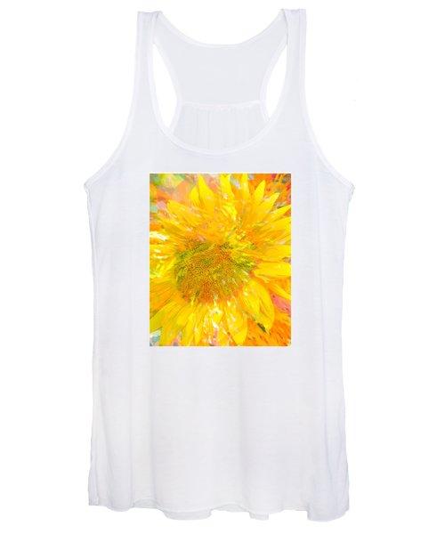 Sunflower Sunshine Women's Tank Top