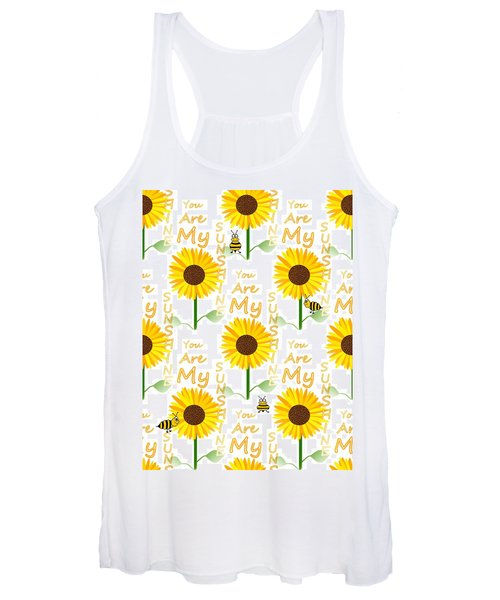 You Are My Sunshine Quote Women's Tank Top