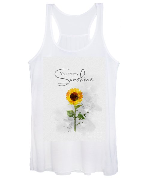 You Are My Sunshine Women's Tank Top