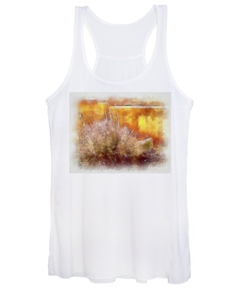 Yucca And Adobe In Aquarelle Women's Tank Top