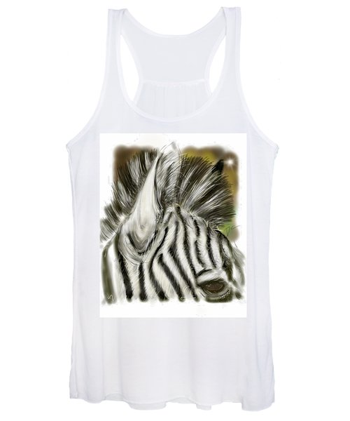 Zebra Digital Women's Tank Top
