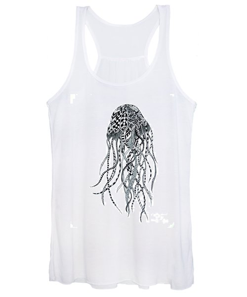 Zen Jellyfish Women's Tank Top