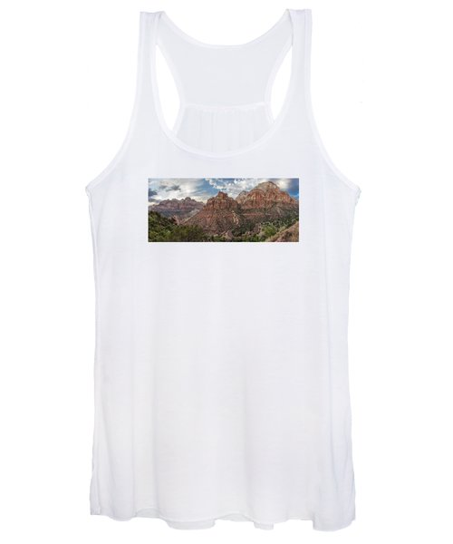 Zion National Park Switchback Road Women's Tank Top
