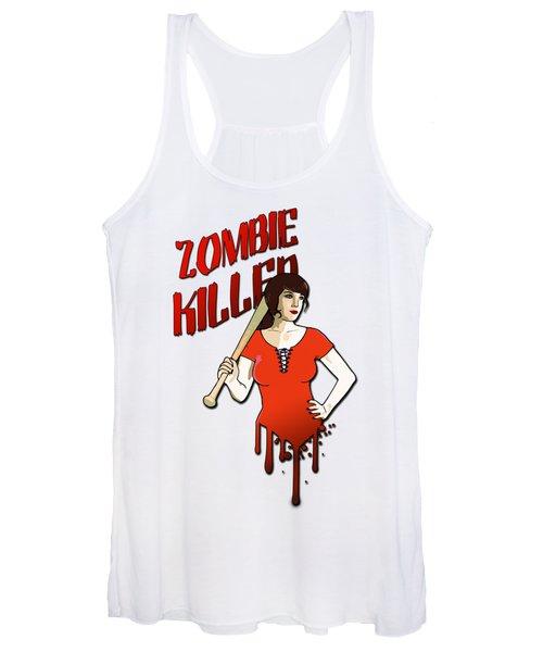 Zombie Killer Women's Tank Top