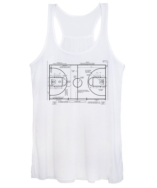 Basketball Court Women's Tank Top