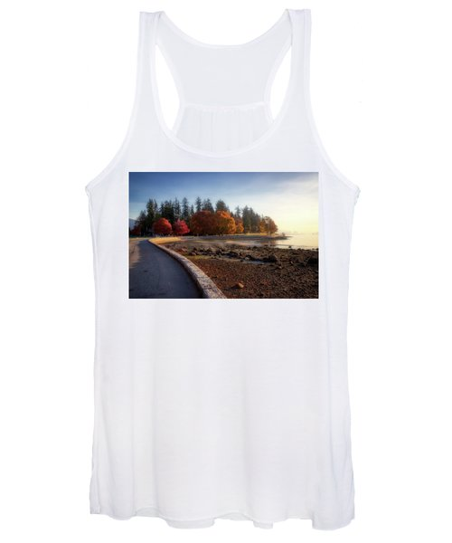 Colorful Autumn Foliage At Stanley Park Women's Tank Top