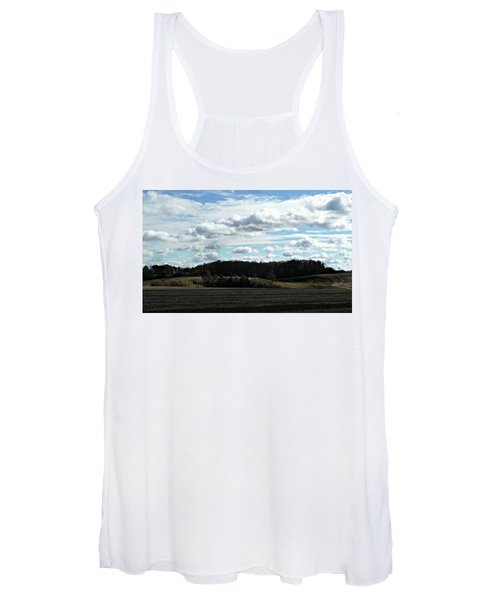 Country Autumn Curves 3 Women's Tank Top