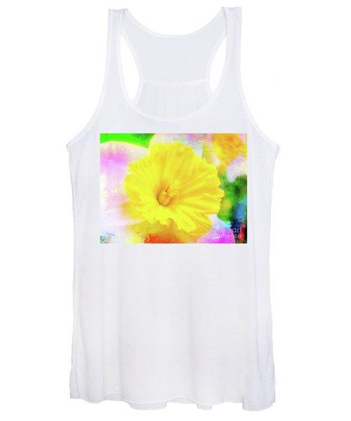 Daffy Daffodil 2 Women's Tank Top