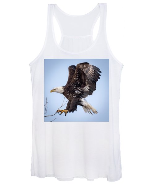 Eagle Coming In For A Landing Women's Tank Top