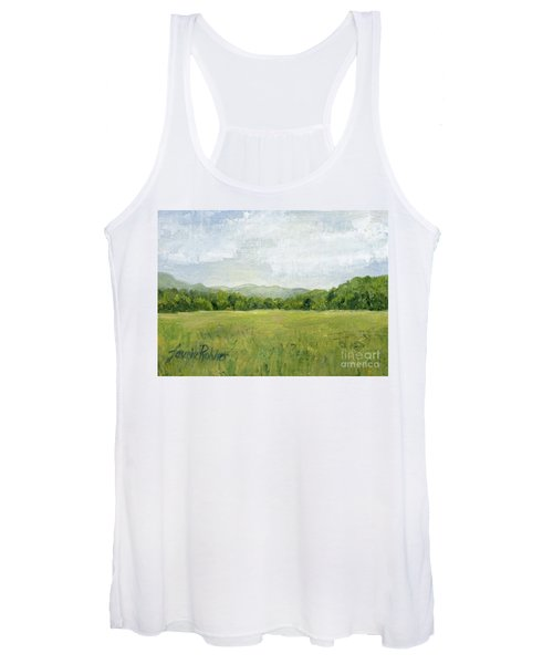 Fields Meet Mountains Women's Tank Top